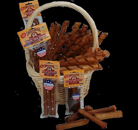 Smokehouse Bacon Skin Twist