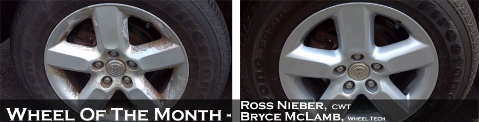 Wheel of the Month, Ross Nieber, CWT and Bryce McLamb, Wheel Tech