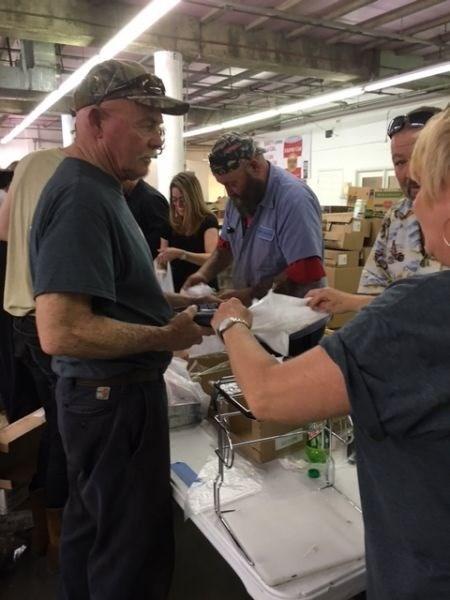 Food Bank Packing