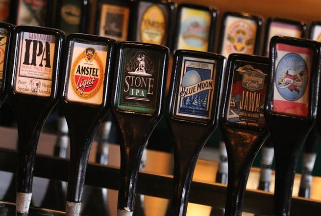 Washington Street's Beers on Tap