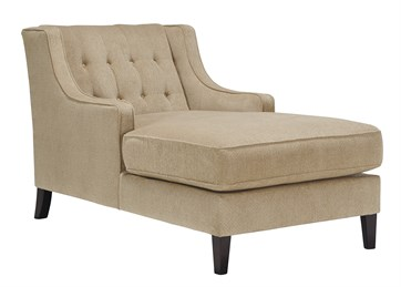 Lochian Upholstered Chaise Bisque