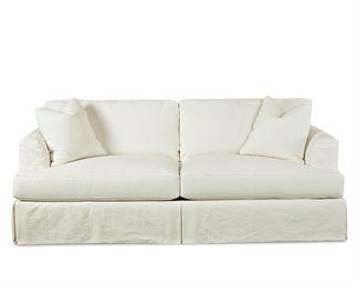 Bentley Upholstered Slip Cover Queen Sofa Sleeper
