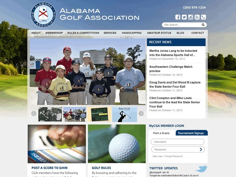 Alabama Golf