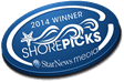 2014 Winner Shore Picks: The Best of the Cape Fear Region