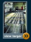 roller track transfer station