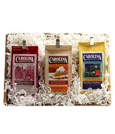 Carolina Coffee Holiday Trio Gift Box