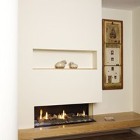Clear 110RS direct vent gas fireplace