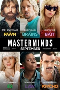 Masterminds - Now Playing on Demand
