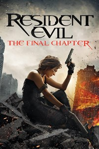Resident Evil: Final Chapter - Now Playing on Demand