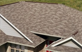 XT™ 30 Impact Resistant Shingles - Color: Weathered Wood