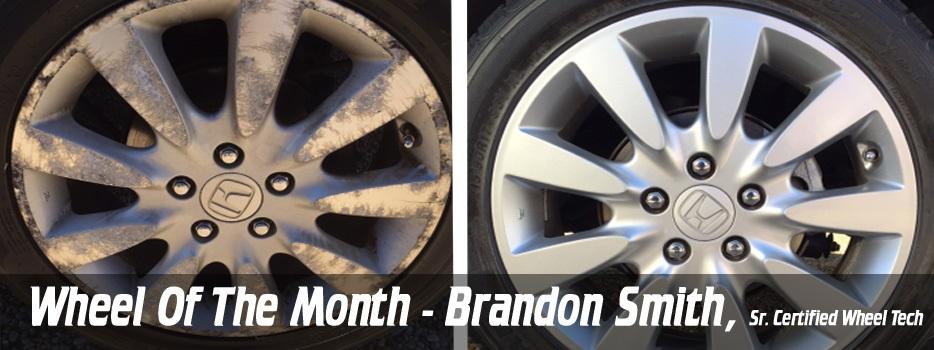 Wheel of the Month- Brandon Smith, Sr. Certified Wheel Tech