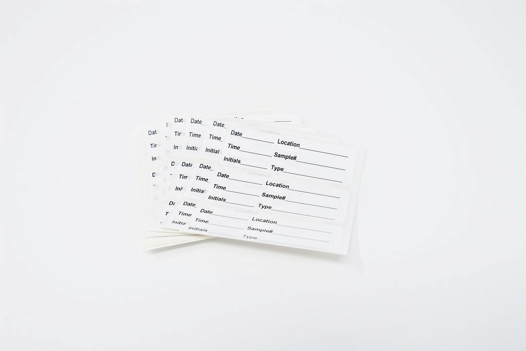Sample Labels, 33/PK (DRSKO)