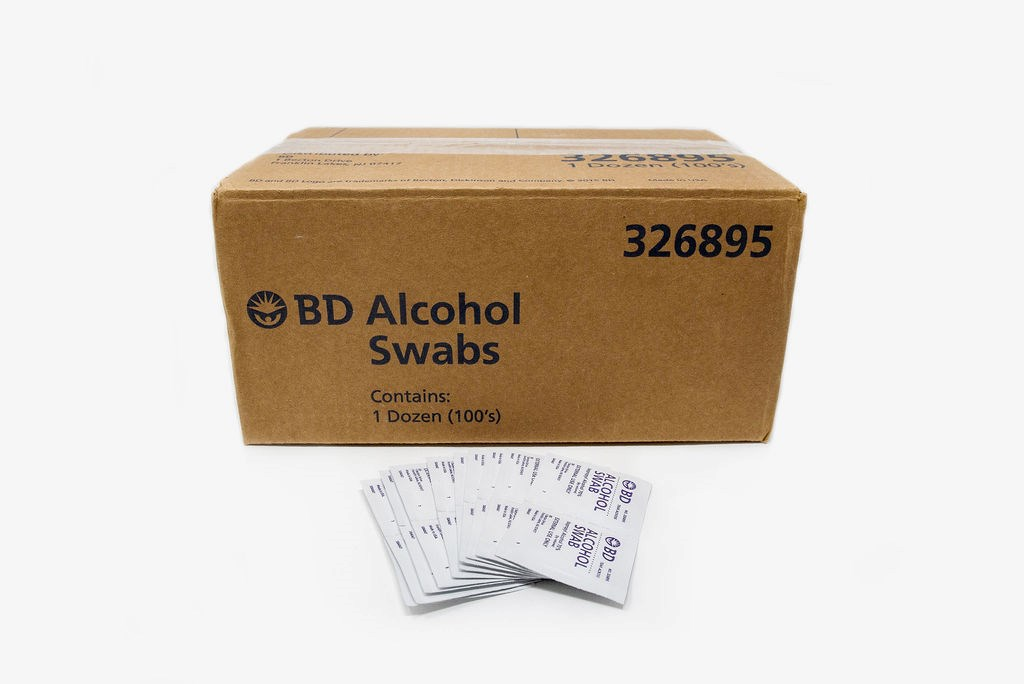 Alcohol Swabs, Sterile (Case of 1200)