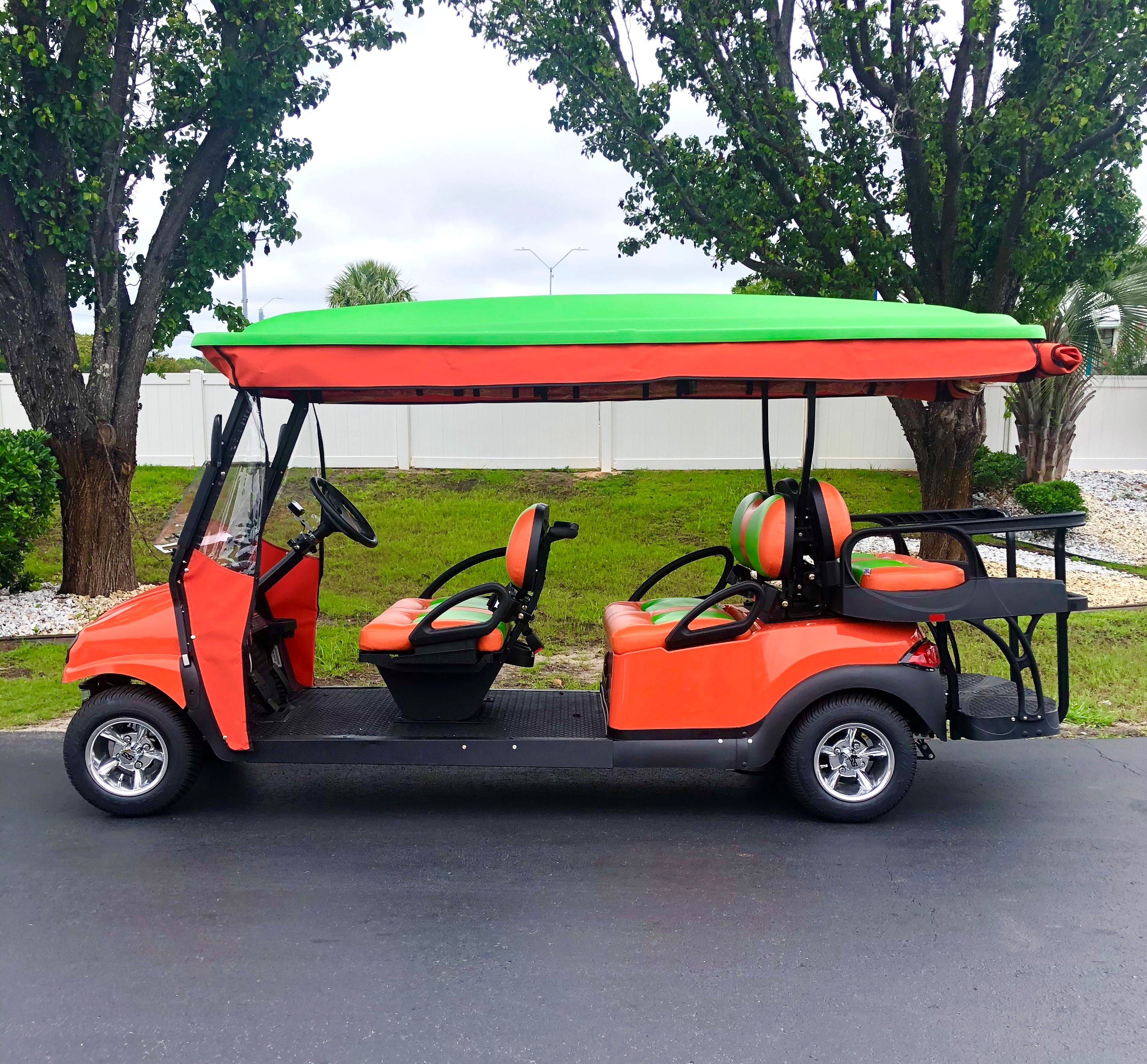 2020 Club Car 6 Passenger with Enclosure