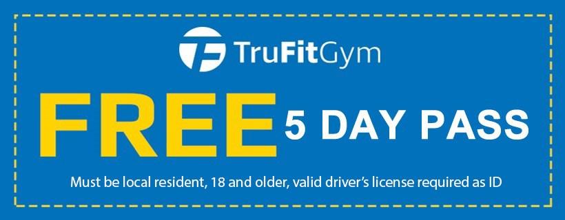 FREE 5 Day Pass