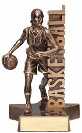 RST- Female Basketball Resin Figure