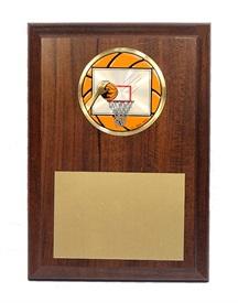 PB 4 x 6 Basketball Plaque
