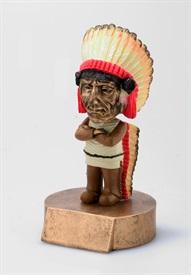 BHC - Native American Bobblehead Mascot