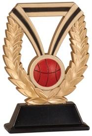 7 inch DUR Basketball Resin Trophy
