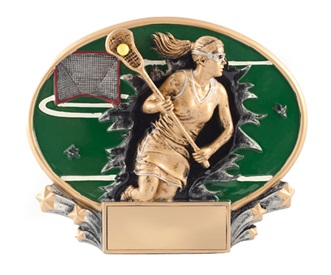 MX Female Lacrosse Trophy