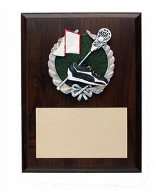 PDU68 - Lacrosse Resin Plaque