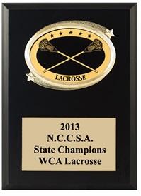 OV57 Lacrosse Plaque