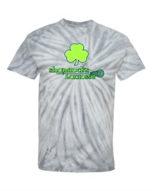 Shamrocks Silver Tie Dye Cotton T-shirt Order due by Monday, October 12, 2020