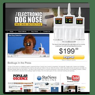 The Electronic Dog Nose, designed by BlueTone Media