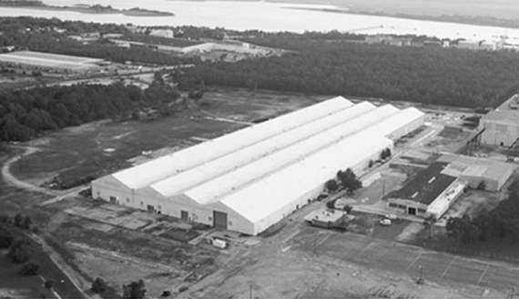 Over 500,000 square feet on 68 acreslocated next to rail and port access in Wilmington, North Carolina