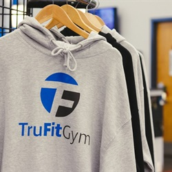 Workout warm-up hoodies