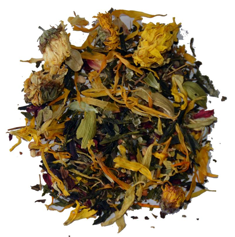 Carolina Coffee Yoga Blend Cooling Herbs & Green Tea