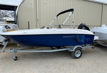 2021 Bayliner Element E16 Solid Blue  Boat