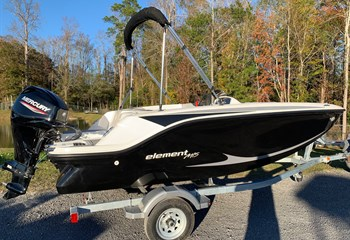 2021 Bayliner Element M15 Black #3 Boat