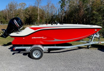 2021 Bayliner Element M15 Red Boat