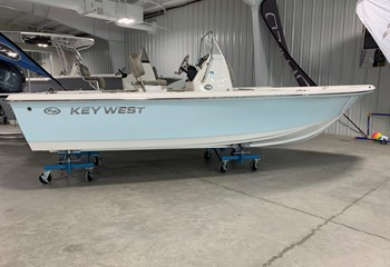 2021 Key West 188 Bay Reef Ice Blue Boat