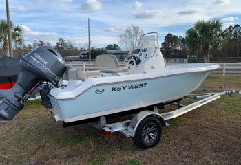 2021 Key West 189 FS Ice Blue/White (CLAYTON) Boat