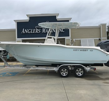 2019 Key West 244 Ice Blue New Boat