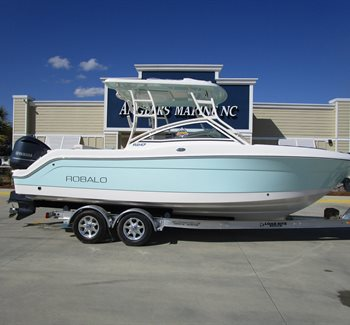 2019 Robalo R247 Sea Foam Green New Boat