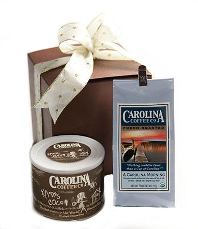 Carolina Coffee Coffee and Cocoa Gift Box
