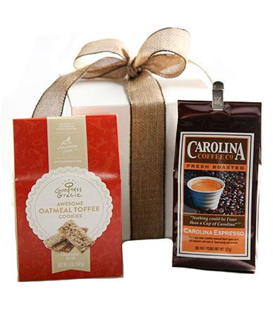 Carolina Coffee Coffee and Toffee Cookies