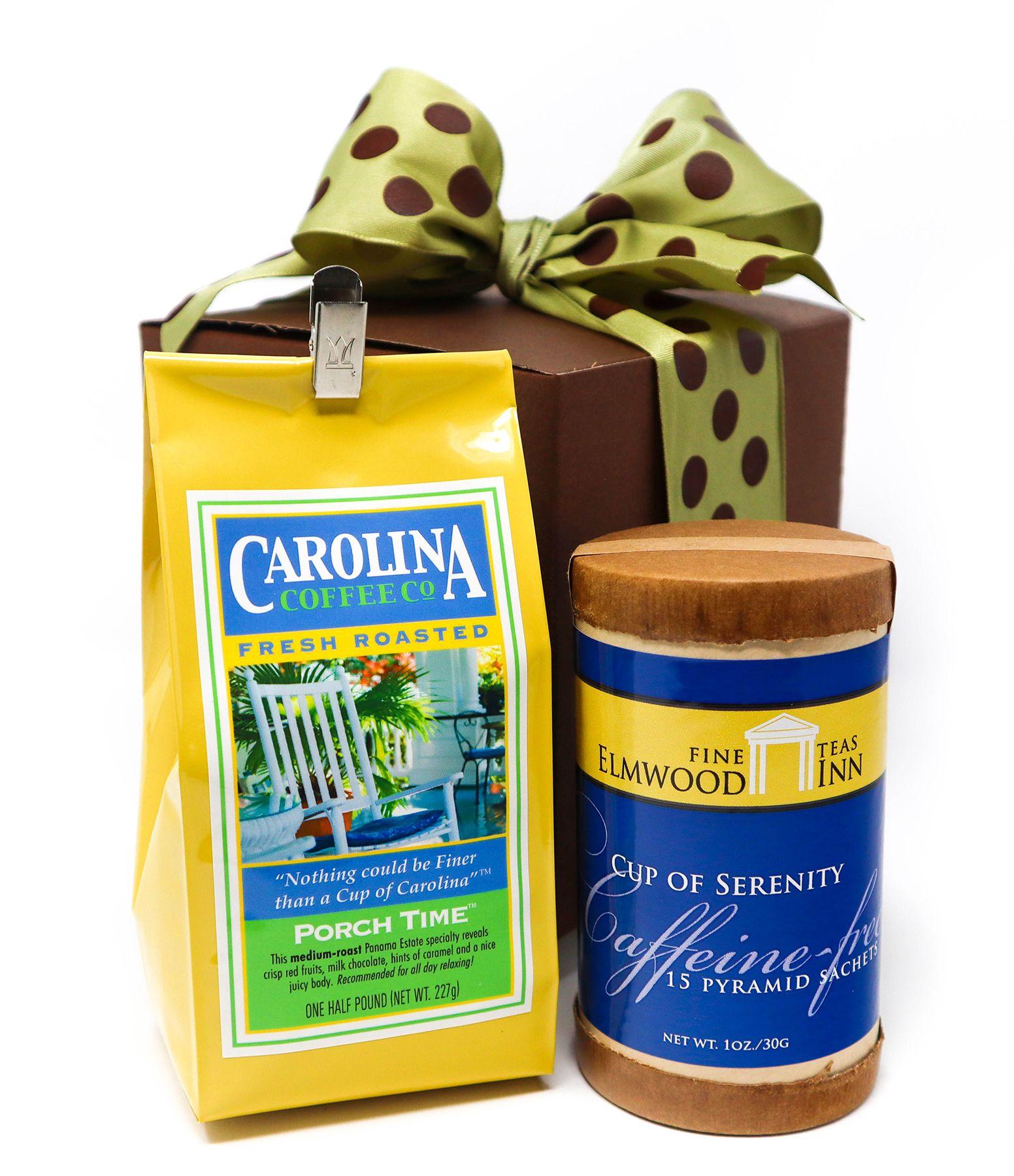 Carolina Coffee Coffee and Tea Gift Box