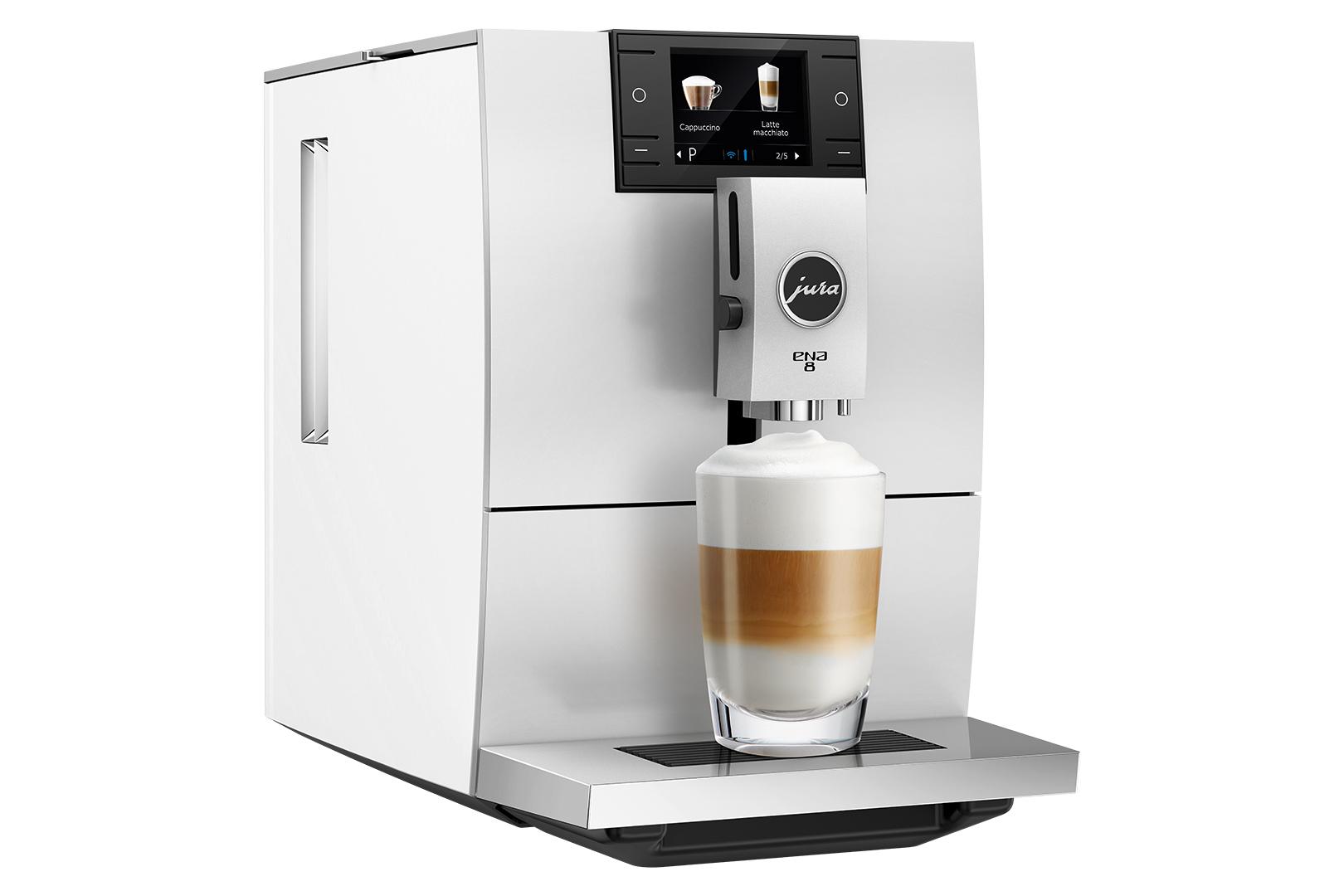 Carolina Coffee Jura ENA 8 - Nordic White