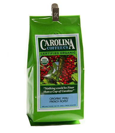 Carolina Coffee Organic Peruvian French-Roast