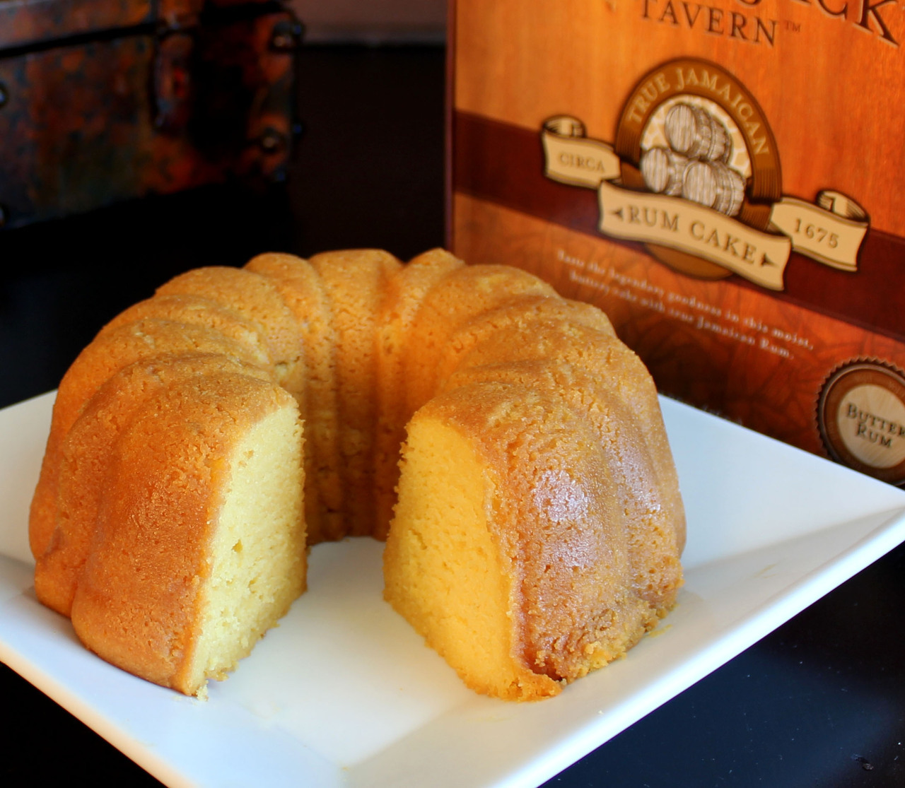 Carolina Coffee Wicked Jack's Tavern Rum Cake