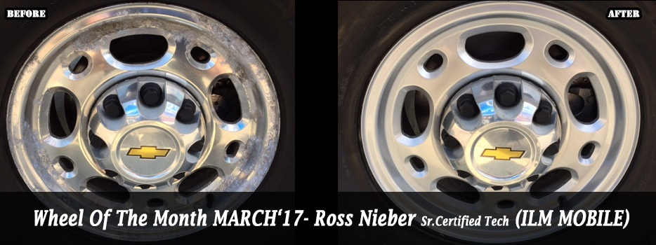 Wheel of the Month March `17 - Ross Nieber, Sr. Certified Wheel Tech (Wilmingon Mobile Service)