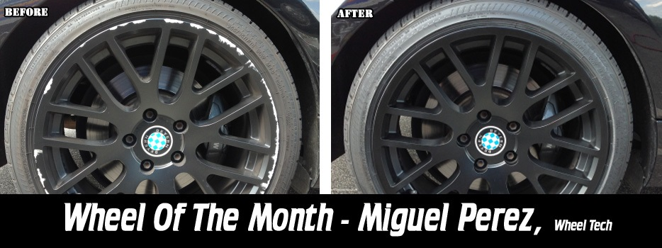 Wheel of the Month, Miguel Perez, Wheel Tech